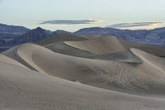 Duinen van het Mesquite de Vlakke Zand, het Nationale Park van de Doodsvallei Stock Afbeelding