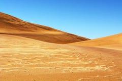 Duinen van Namibië Stock Afbeelding
