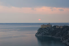 Duino castle Royalty Free Stock Photography