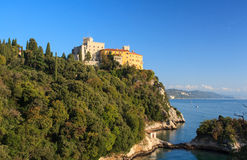 Duino castle Stock Images