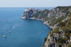 DUINO kasztel Włochy Zdjęcia Royalty Free