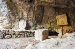 The Duino Mithraeum Stock Image