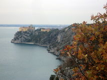 Duino Schloss Stockfotografie