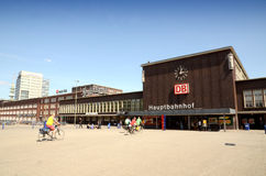 Duisburg Central Station Royalty Free Stock Photos