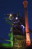 Duisburg, Germany - May 17, 2015: Nocturnal shot of Landschaftsp Royalty Free Stock Photos