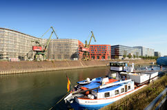 Duisburg Inner Harbor Stock Image