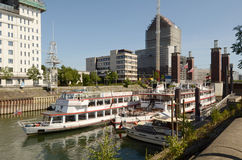 Free Duisburg Inner Harbour - Gerhard Mercator Boat Royalty Free Stock Photography - 28210657