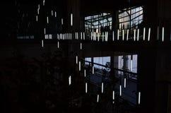 Duistere lumière Royalty-vrije Stock Foto's