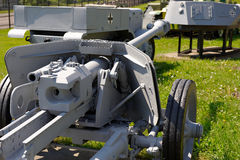 Duits anti-tank kanon Pak 38 75 mm Stock Afbeelding