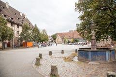 Duits Cisterciënzer klooster in Baden-Wuertemmberg Royalty-vrije Stock Foto