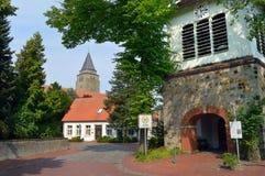 Duits dorp Royalty-vrije Stock Afbeeldingen
