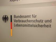 Duits Federaal Bureau van Consumentenbescherming en Voedselveiligheid stock afbeelding