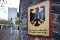 Duits Federaal Ministerie van Economie en Energie Bonn Duitsland stock foto