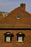 Duits huis Stock Fotografie