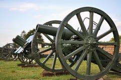 Duits kanon van een eerste wereldoorlog Royalty-vrije Stock Fotografie