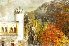 Duits kasteel royalty-vrije stock foto's