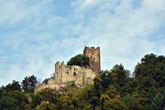 Duits kasteel Kastelburg Waldkirch im Breisgau Stock Afbeeldingen