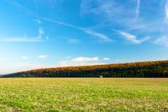 Duits landschap Stock Foto's