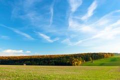 Duits landschap Royalty-vrije Stock Foto