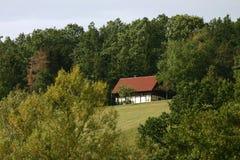 Duits landschap Royalty-vrije Stock Foto's