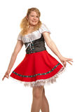 Duits meisje. royalty-vrije stock afbeelding