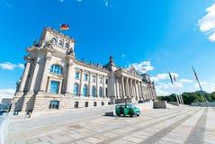 Duits Parlementsgebouw Stock Afbeelding