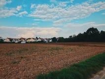 Duits platteland stock foto's
