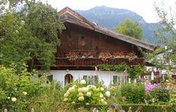 Duits Plattelandshuisje Stock Afbeelding