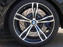 Duits sportscar de legeringswiel van BMW Stock Afbeeldingen