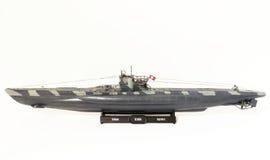 Duits u-Boottype VII c-Schaalmodel Stock Afbeeldingen