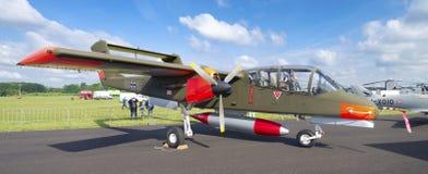 Duits wild paardvliegtuig Stock Foto