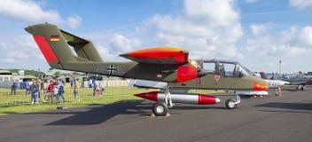 Duits wild paardvliegtuig Royalty-vrije Stock Afbeelding
