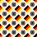 Duitse achtergrond Royalty-vrije Stock Afbeelding