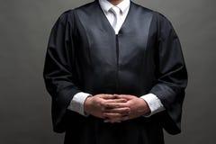 Duitse advocaat met een robe royalty-vrije stock foto