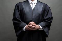 Duitse advocaat met een robe royalty-vrije stock foto's