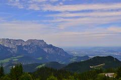 Duitse Alpen - Berchtesgaden Stock Afbeelding