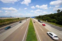 Duitse Autobahn Royalty-vrije Stock Afbeeldingen