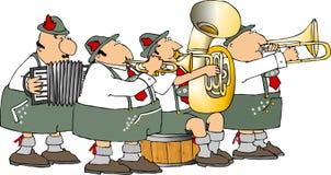 Duitse band stock afbeelding