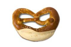 Duitse Beierse pretzel Oktoberfest Royalty-vrije Stock Afbeelding