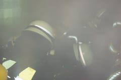Duitse brandbestrijders in actie Royalty-vrije Stock Foto's