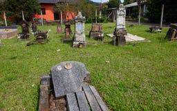 Duitse Braziliaanse begraafplaats royalty-vrije stock foto