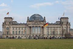 Duitse bundestag in Berlijn Stock Foto