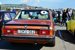 Duitse de sedanschrijver uit de klassieke oudheid van BMW E12 528 Stock Fotografie