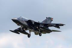Duitse de Tornadoecr van Luchtmachtluftwaffe Panavia Elektrische Gevecht/Verkenningsvliegtuigen Stock Foto's