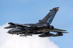 Duitse de Tornadoecr van Luchtmachtluftwaffe Panavia Elektrische Gevecht/Verkenningsvliegtuigen Royalty-vrije Stock Afbeeldingen