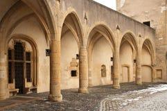 Duitse deur in Metz Royalty-vrije Stock Foto's