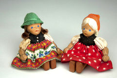 Duitse Doll Royalty-vrije Stock Afbeelding