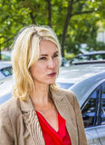Duitse Familieminister Manuela Schwesig Royalty-vrije Stock Afbeeldingen