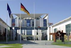 Duitse Federale Kanselarij in Berlijn Stock Foto's