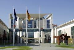 Duitse Federale Kanselarij in Berlijn Stock Afbeeldingen